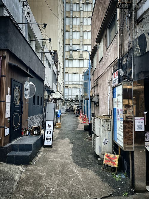 Alley in Japan