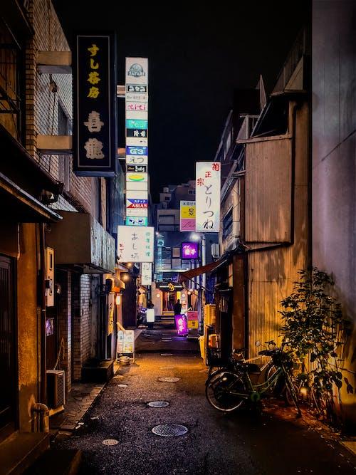 Narrow Street in Tokyo