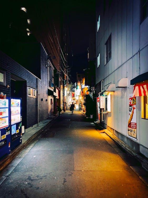 Základová fotografie zdarma na téma asfalt, Asie, backstreet