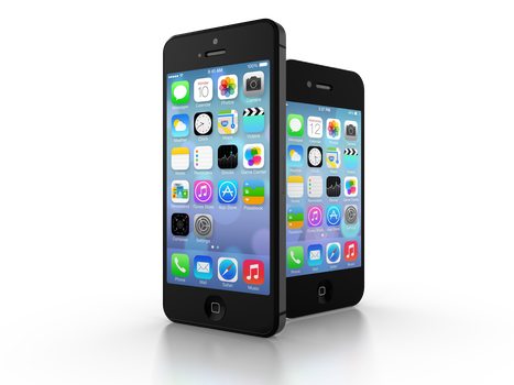Free stock photo of iphone, smartphone, app, display