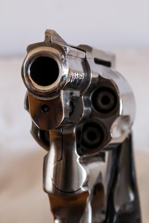 Gratis lagerfoto af close-up, pistol, revolver, våben