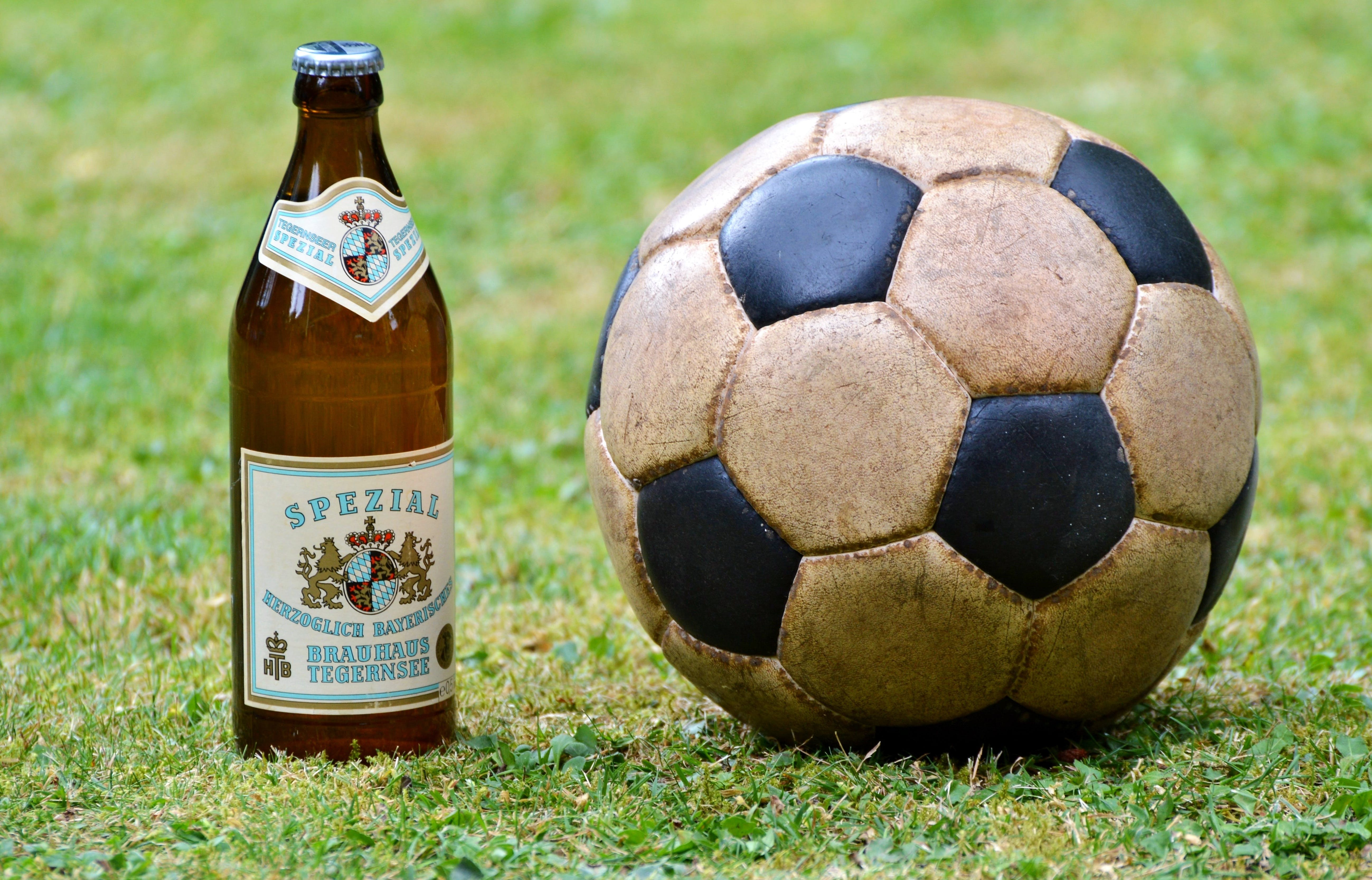 Free stock photo of beer, sport, ball, football