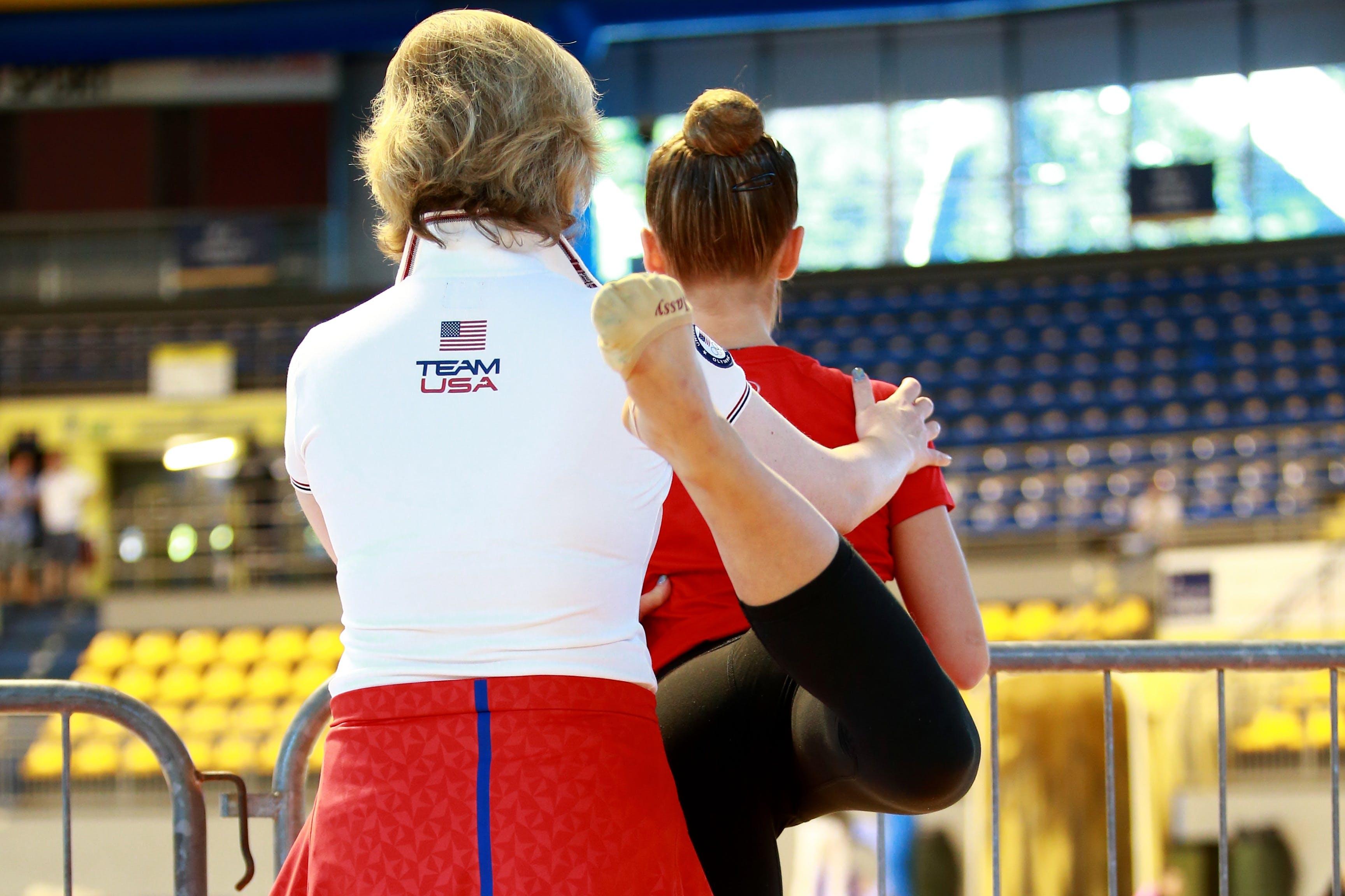 Free stock photo of athlete, athletic preparation, coach, exercises