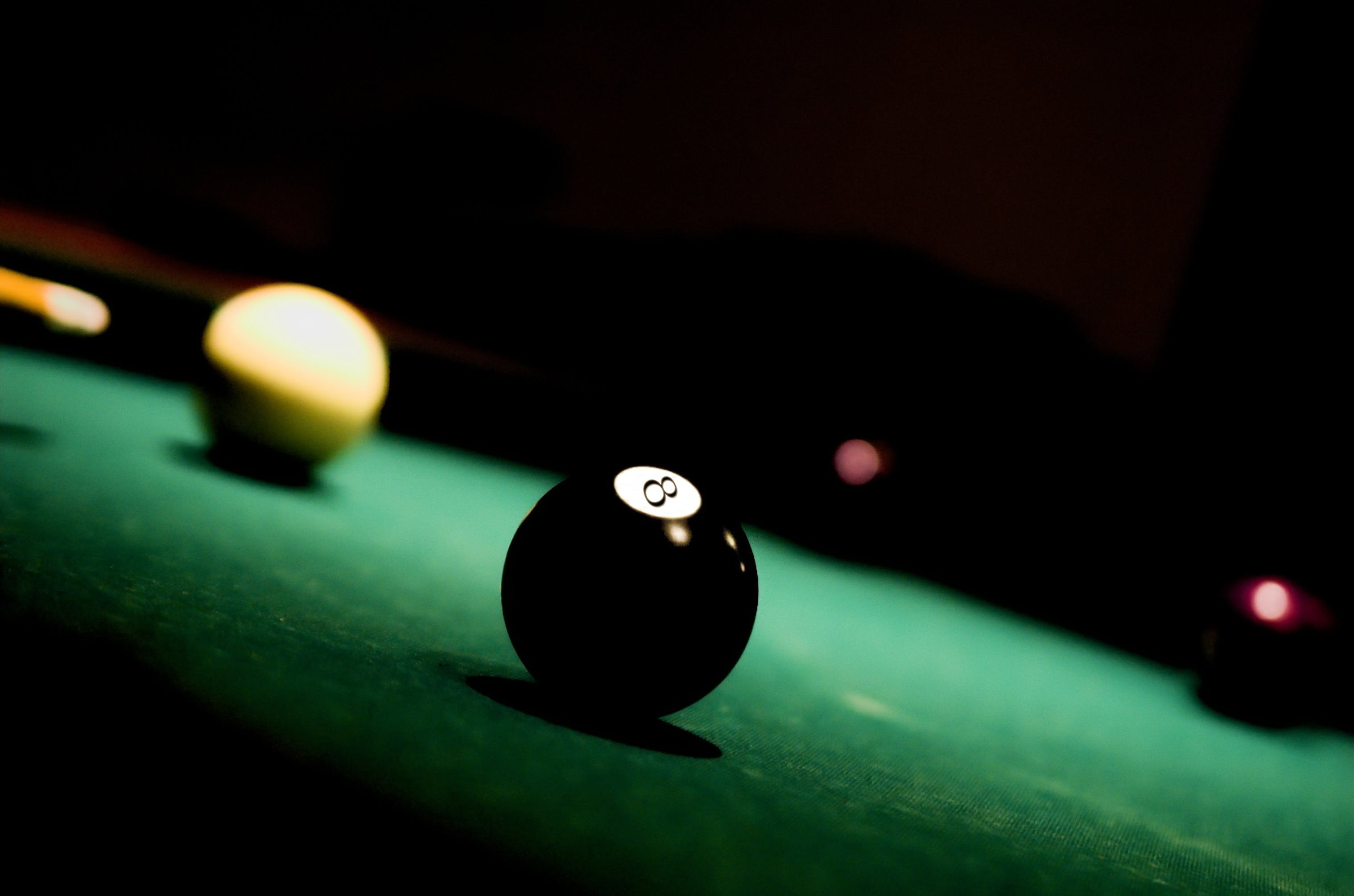 Free stock photo of table, sport, ball, black
