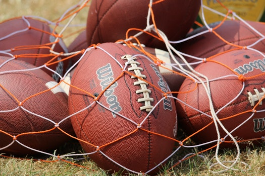 Free stock photo of sport, football, balls, American football