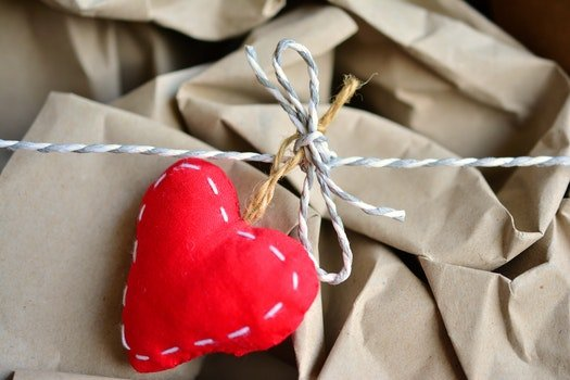Free stock photo of love, heart, gift, present