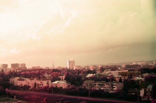 Free stock photo of beautiful sky, buildings, city