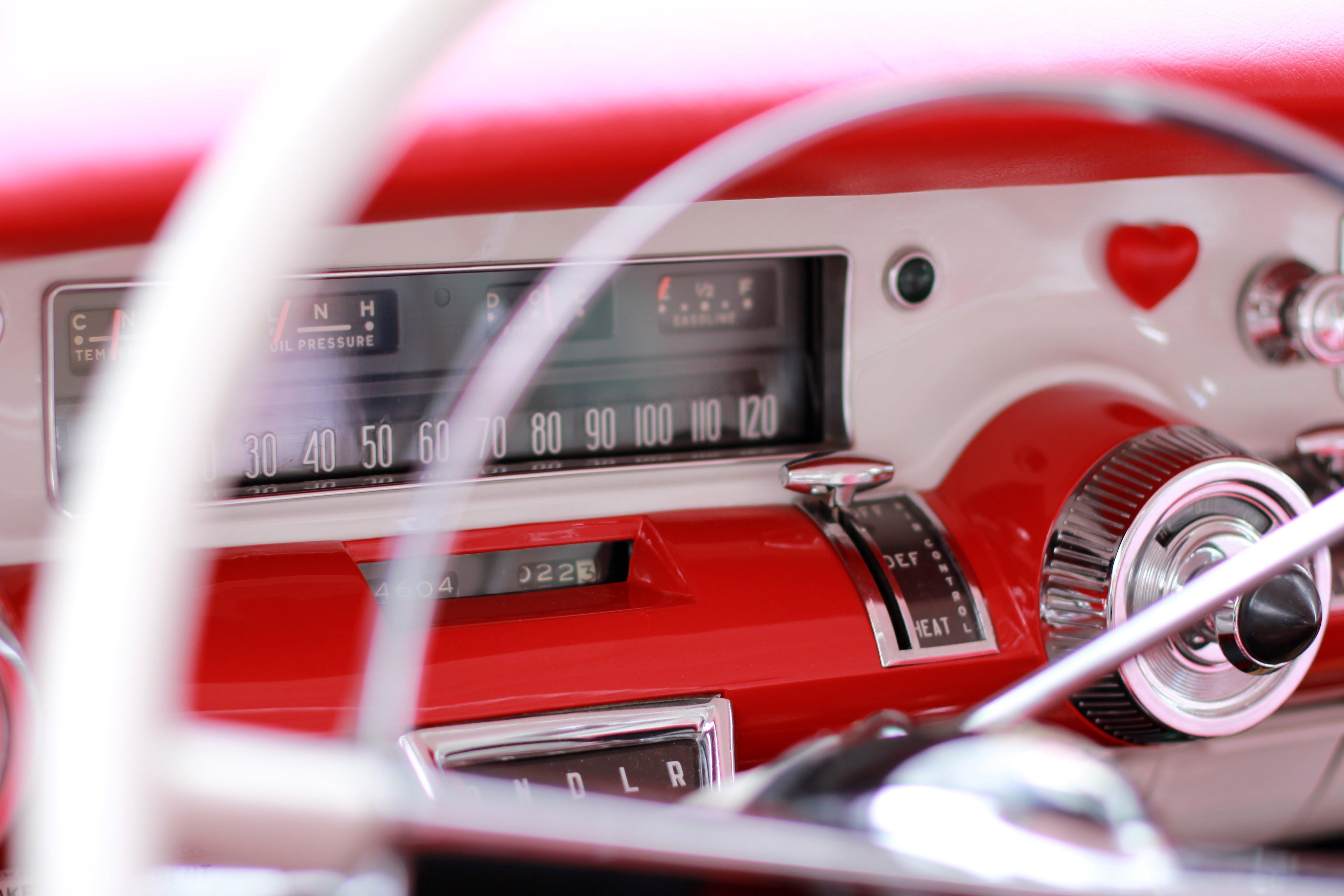Silver Steering Wheel