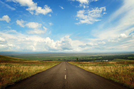 Free stock photo of road, landscape, sky, space