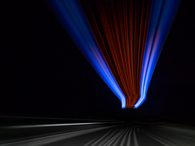 Free stock photo of road, sky, lights, night