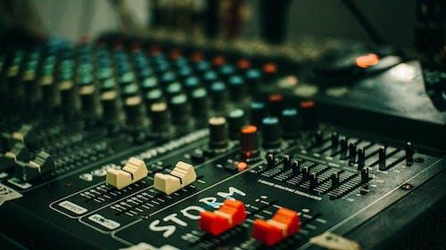 Foto d'estoc gratuïta de amplificador, analògic, àudio