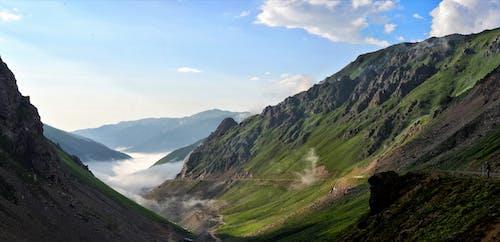 Бесплатное стоковое фото с восточное черное море, высокий, голубой, гора