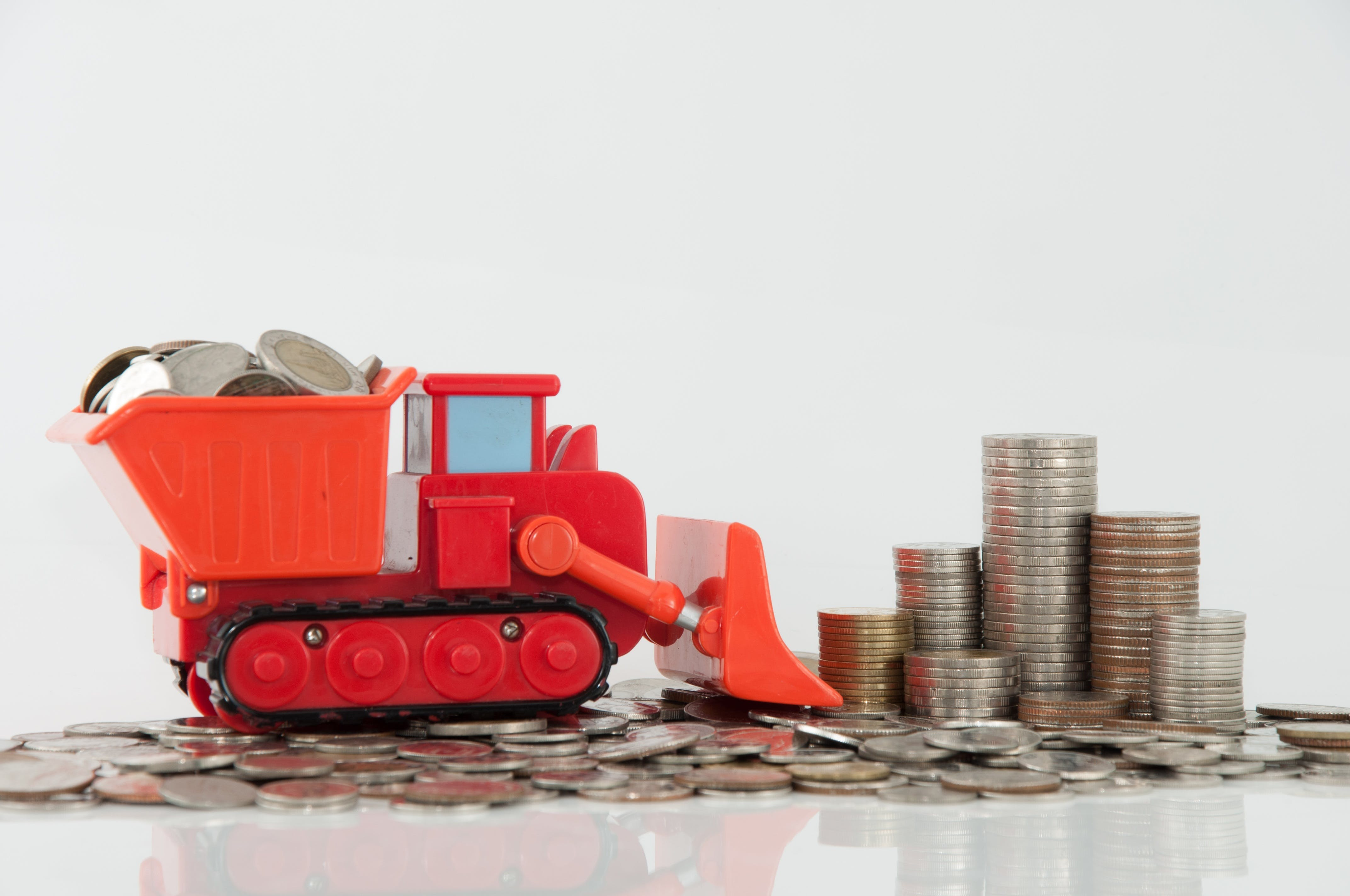 Free stock photo of money, truck, coin