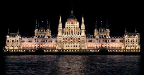 匈牙利, 匈牙利议会, 布達佩斯, 建築 的 免费素材照片