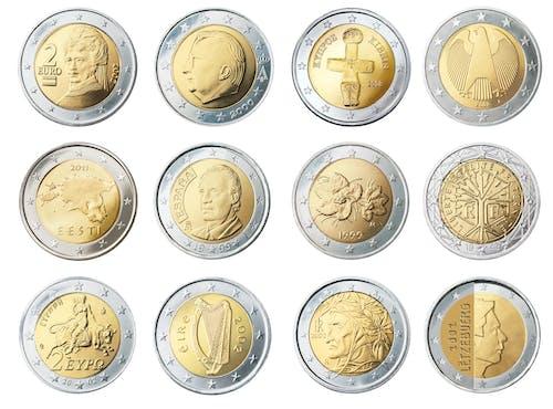 利潤, 收入, 歐元, 歐洲 的 免费素材照片