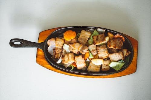 Foto d'estoc gratuïta de àpat, apetitós, carn, ceba