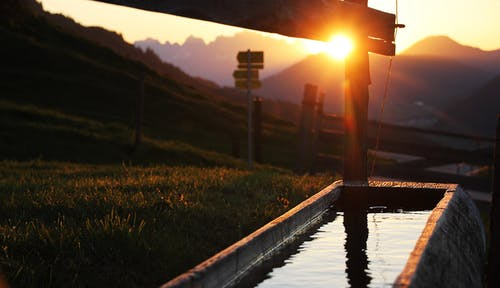Kostnadsfri bild av bergen, gryning, österrike, Sol