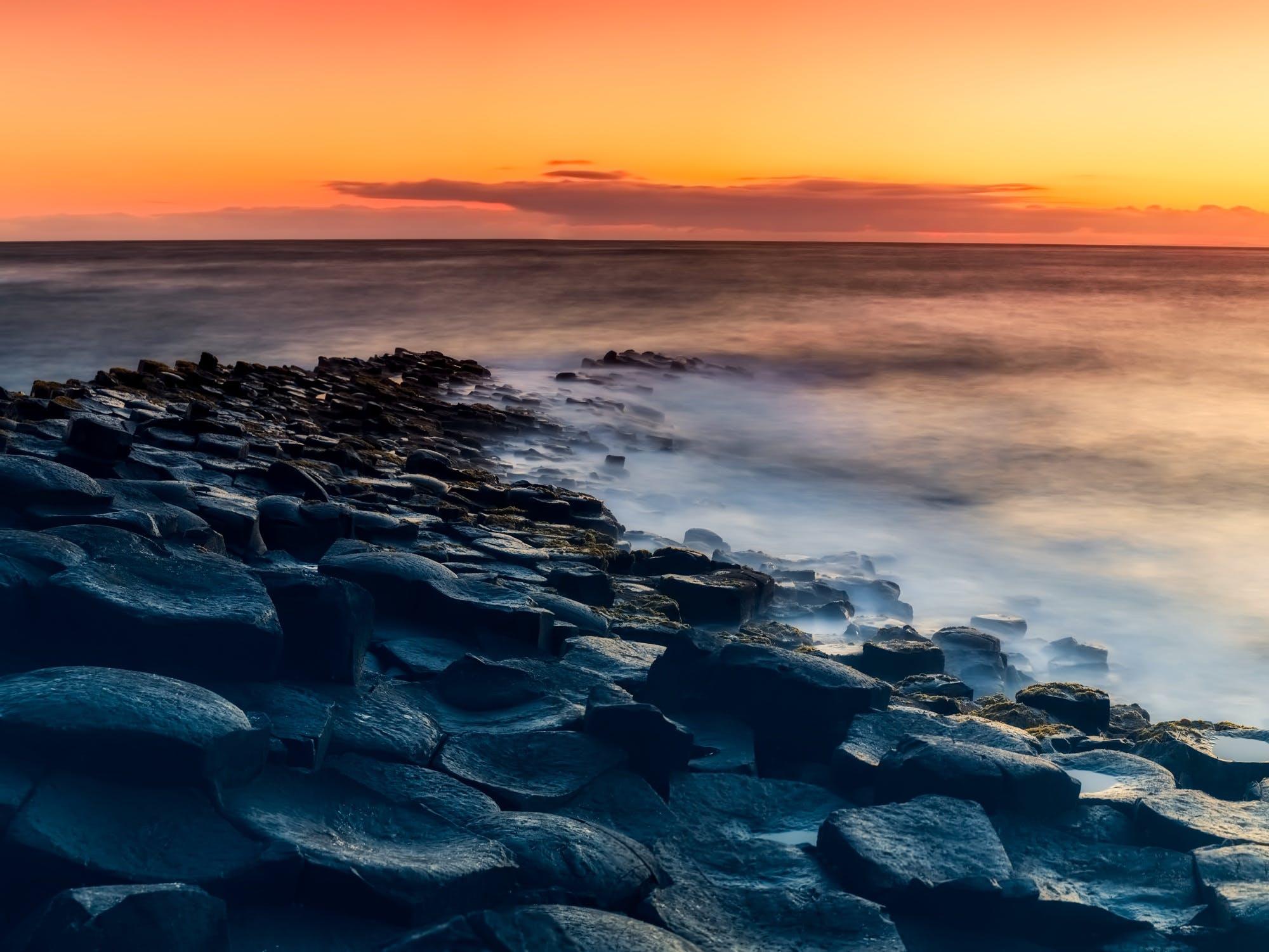 horizont, Irsko, kameny