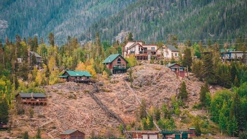 Kostenloses Stock Foto zu architektur, baum, berg, draußen