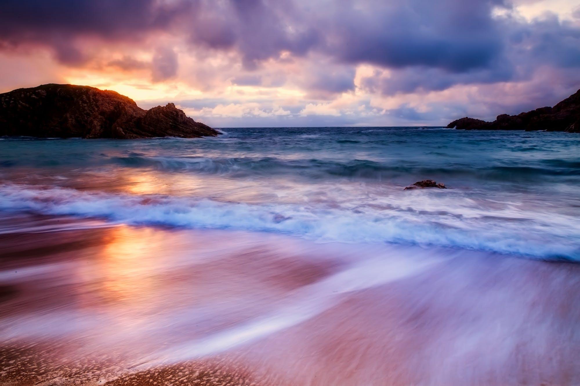 Δωρεάν στοκ φωτογραφιών με άμμος, Ανατολή ηλίου, αυγή, γνέφω