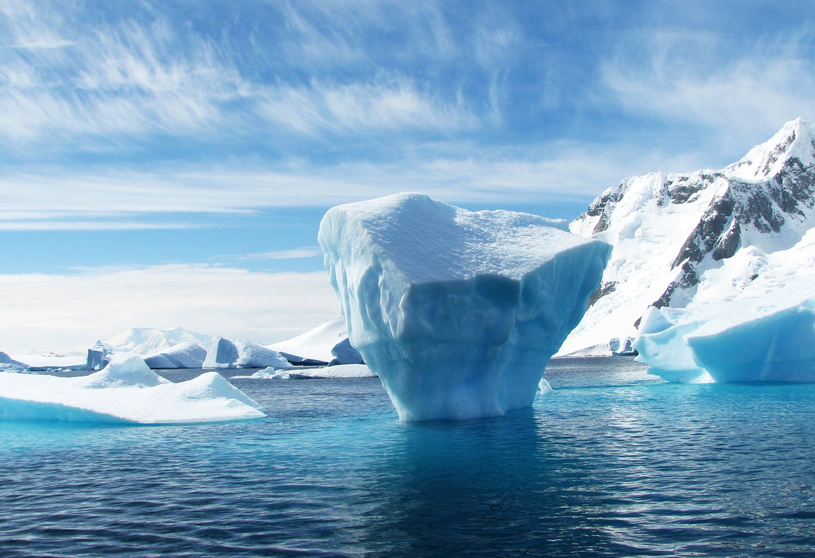 คลังภาพถ่ายฟรี ของ ทะเล, ท้องฟ้า, ธารน้ำแข็ง, น้ำแข็ง