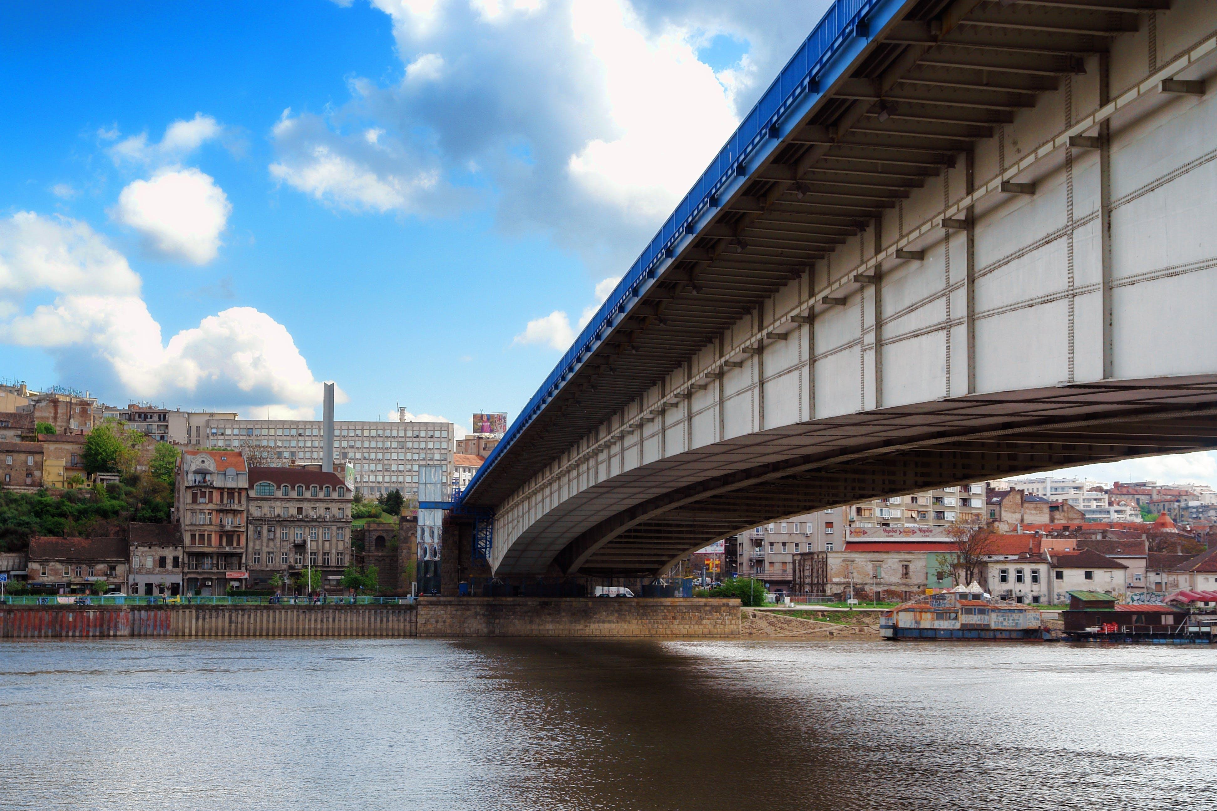 architecture, Belgrade, bridge