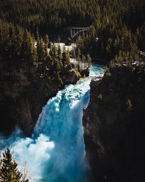 Бесплатное стоковое фото с ан lichtbak toevoegen 로간, вода, водопад, гора