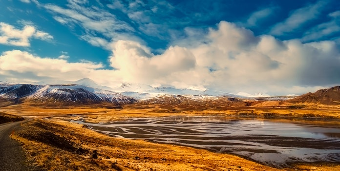 Free stock photo of cold, iceland, snow, landscape