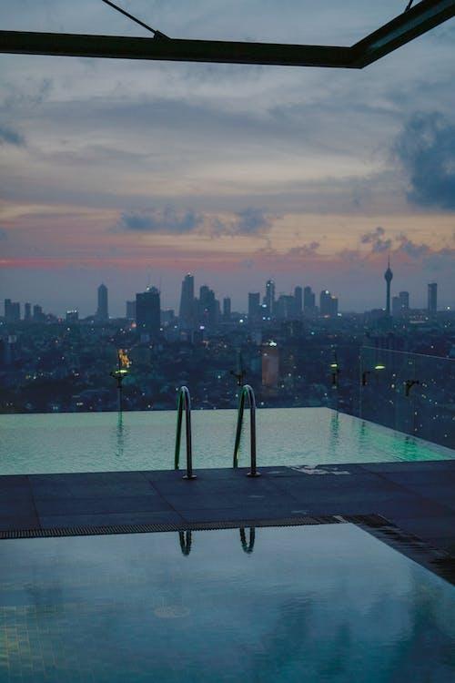 Foto d'estoc gratuïta de a l'aire lliure, aigua, alba, arquitectura