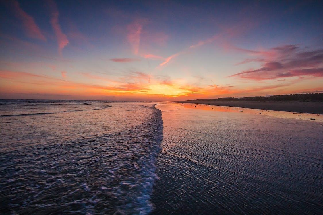 Англія, берег моря, вечір