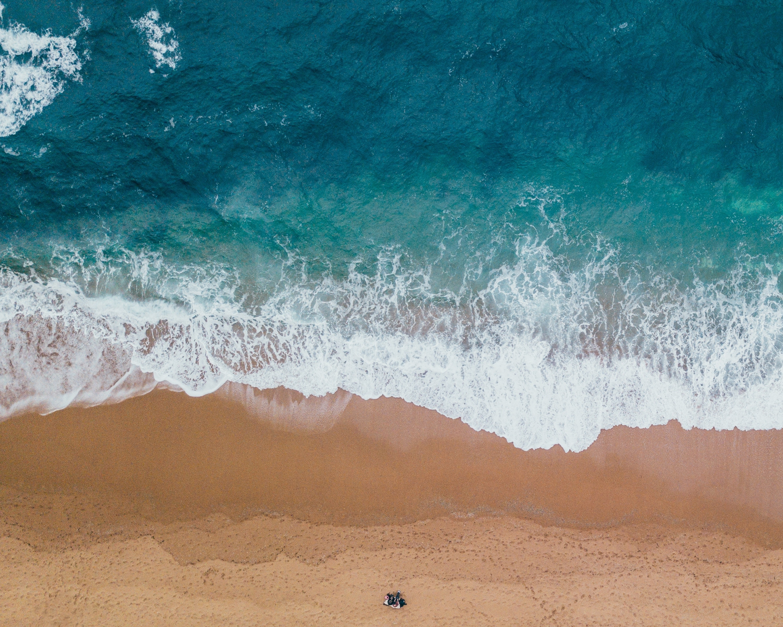 Iphoneの壁紙 シースケープ ビーチの無料の写真素材