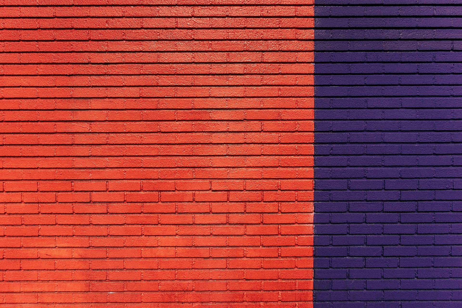 blue, bricks, pattern