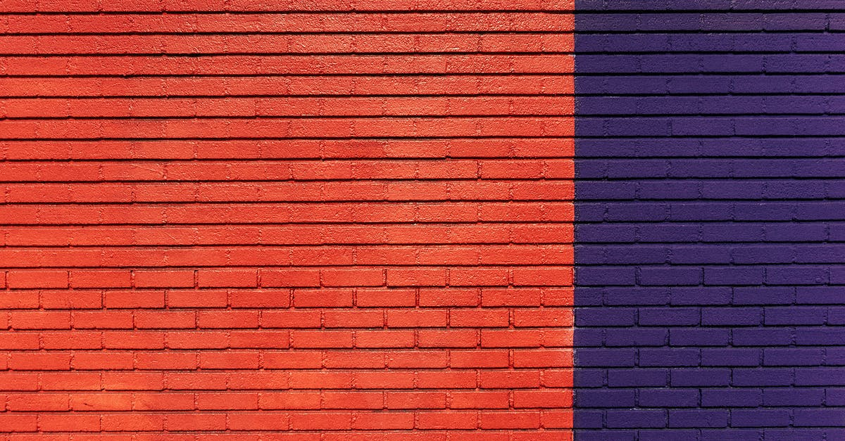 Red And Purple Concrete Wall 183 Free Stock Photo