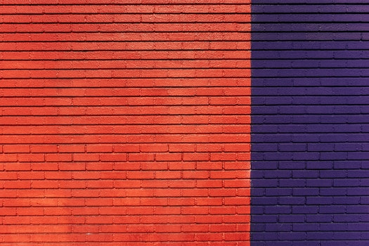 Free stock photo of red, blue, bricks, pattern