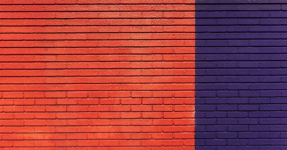 Free Stock Photo Of Blue Bricks Pattern