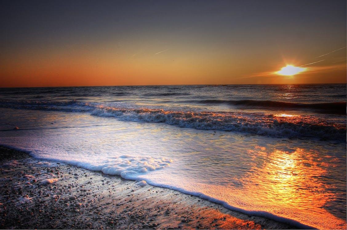 Beach Side during Dawn