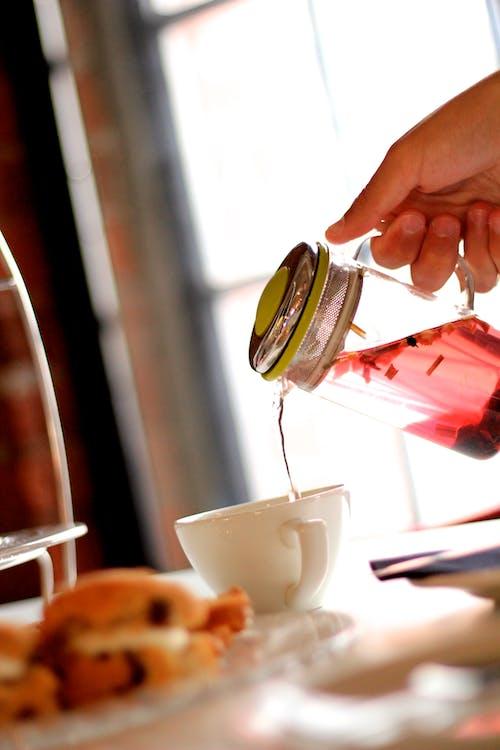 Základová fotografie zdarma na téma čaj, čajová konvice, čirý, infuze