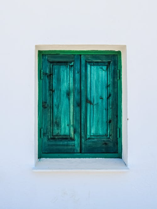 Gratis lagerfoto af dør, døråbning, eksteriør, grøn