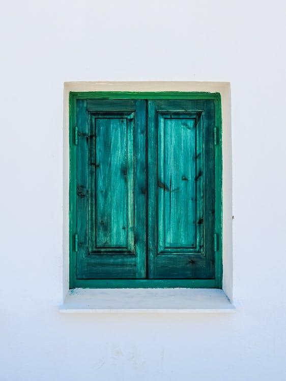 blanc, de fusta, entrada