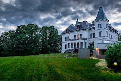 光, 別墅, 城堡, 夏天 的 免費圖庫相片
