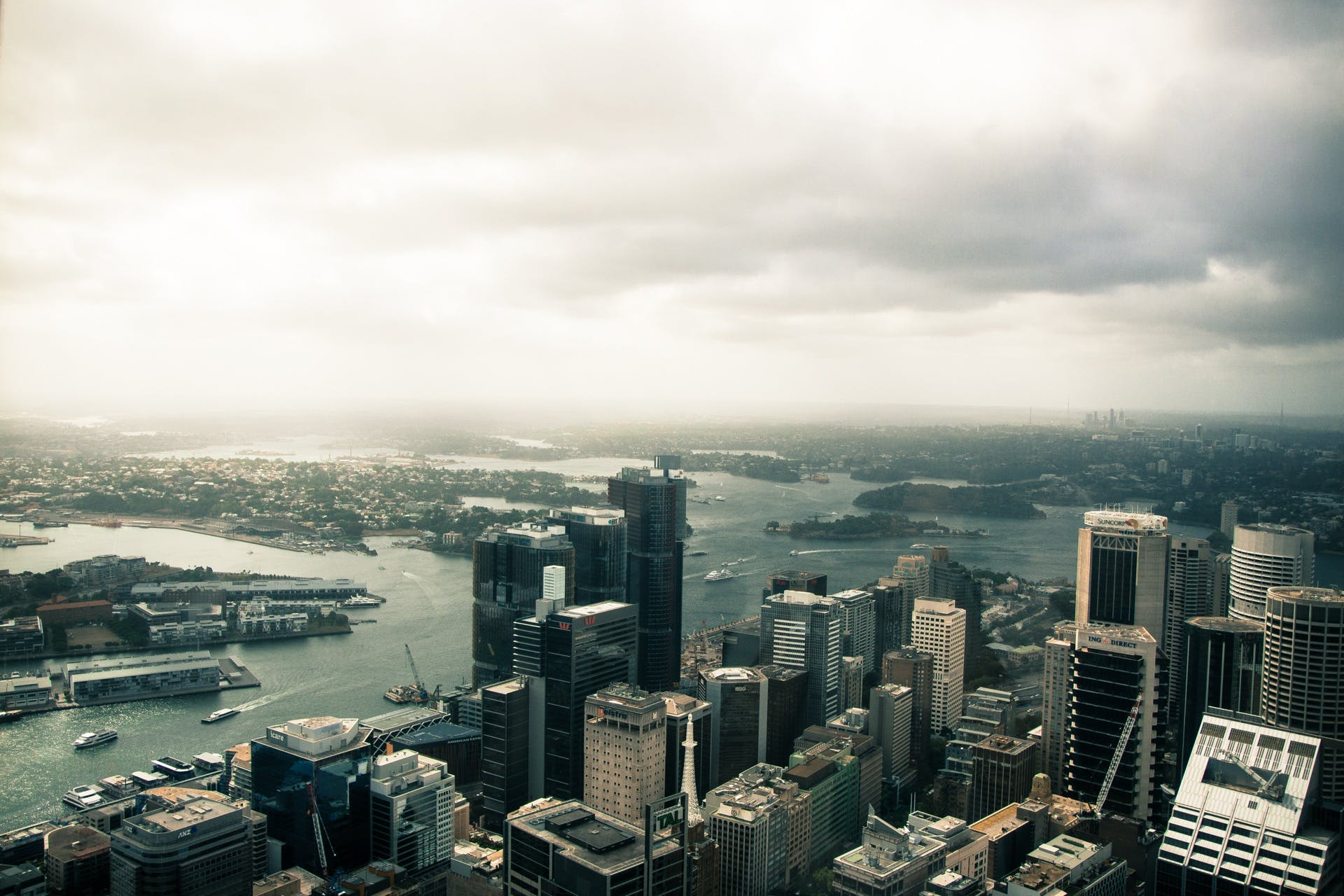 Free stock photo of city, landscape, sydney, cloud