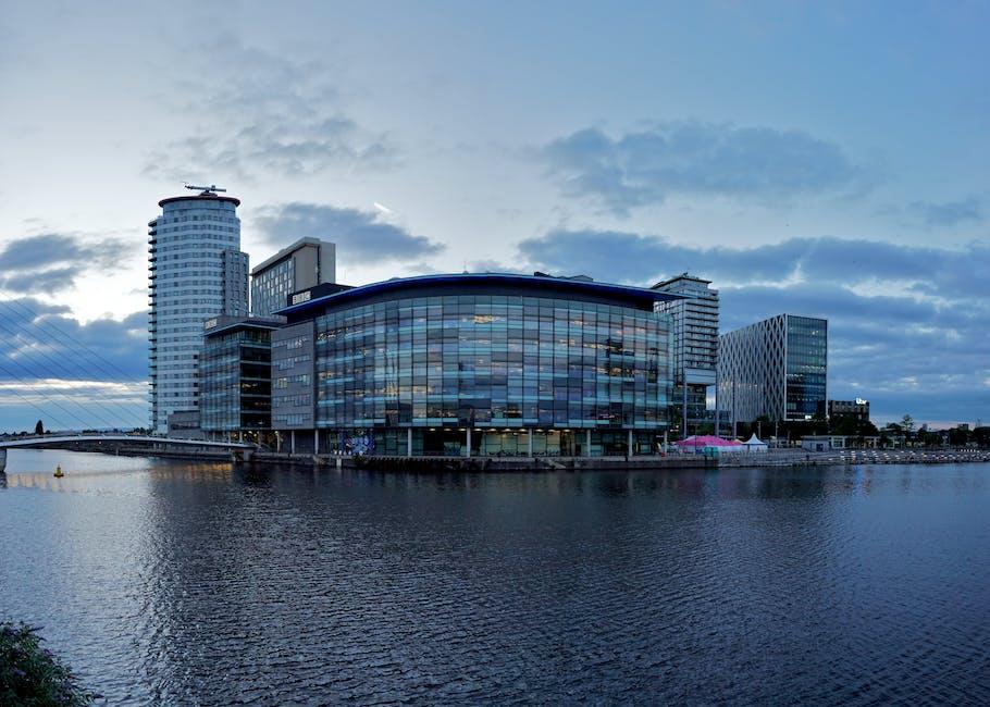 New free stock photo of water, buildings, bridge