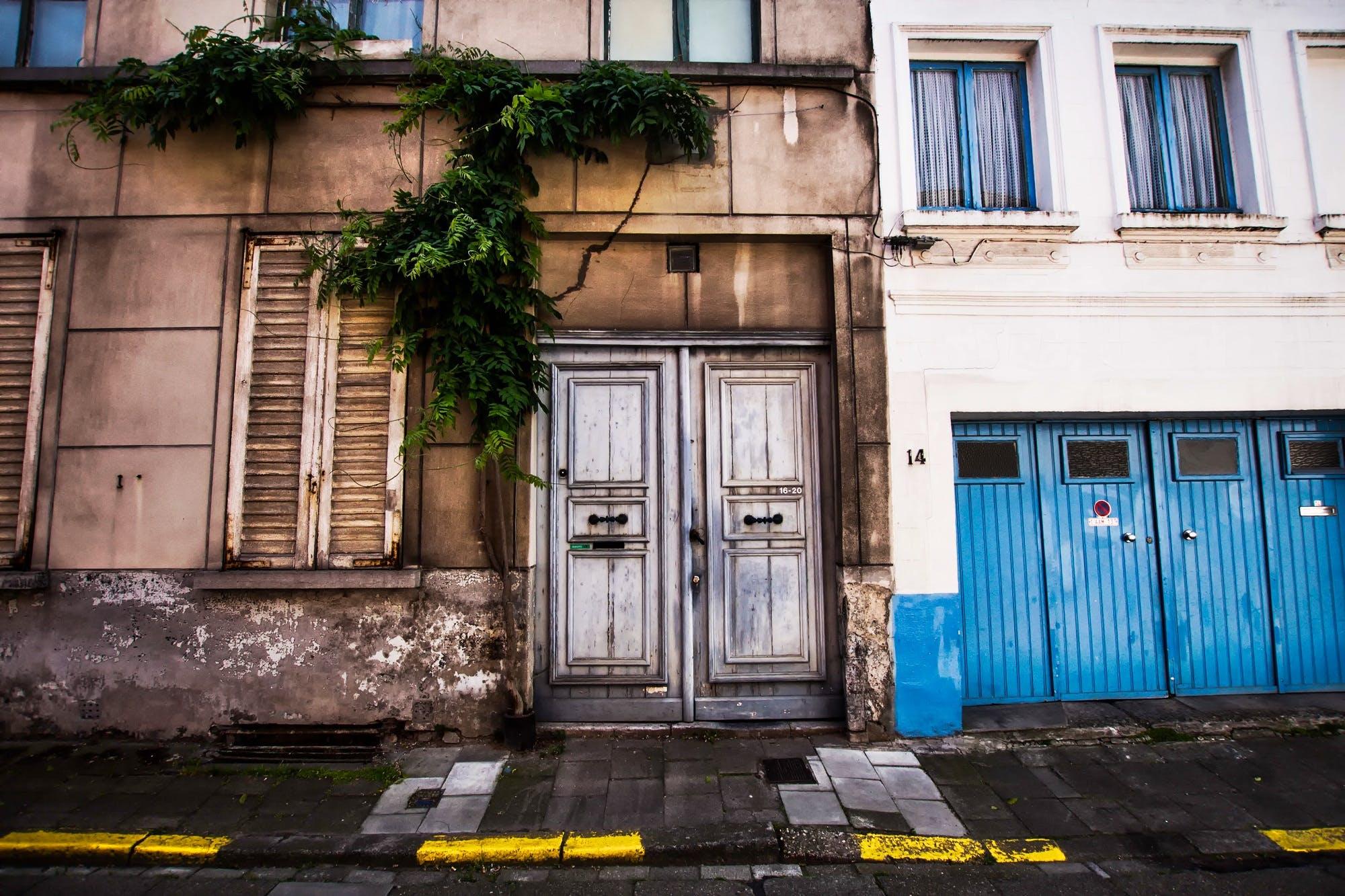 アパート, エントランス, シティ, ビンテージの無料の写真素材