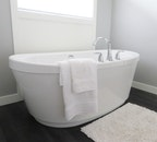 inside, white, bathroom