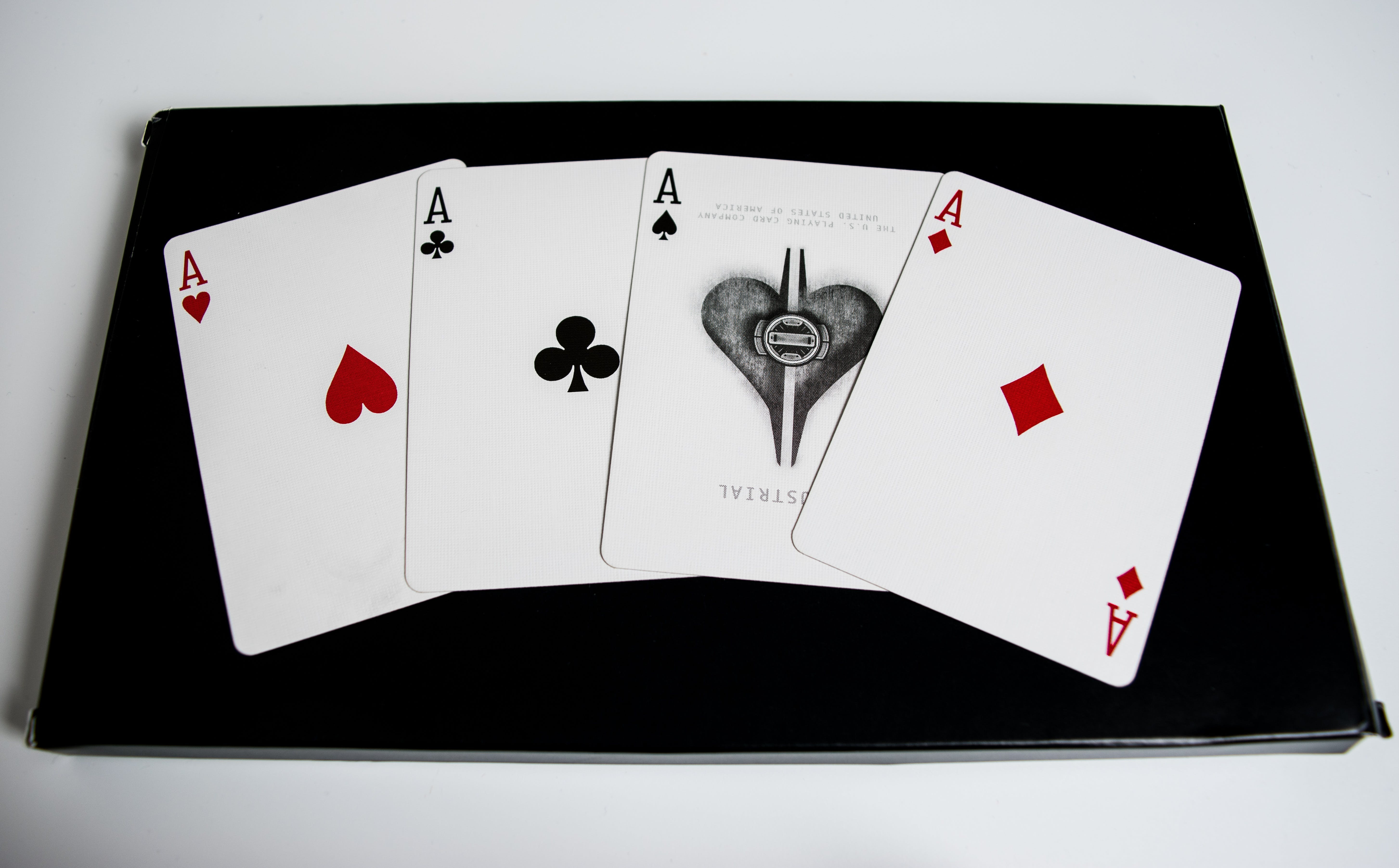 Four Ace Game Cards