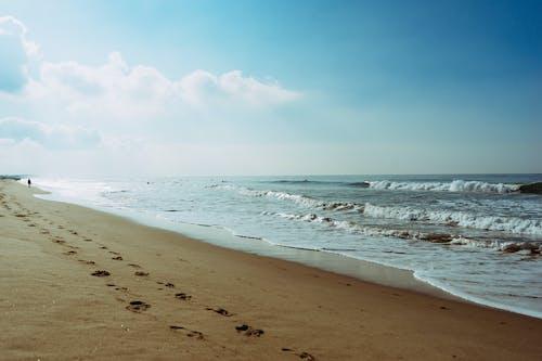 Foto profissional grátis de água do mar, água salgada, degraus, litoral