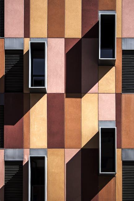 Architectural design architecture building colors