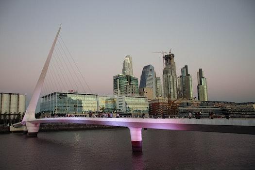 Free stock photo of city, sky, people, landmark