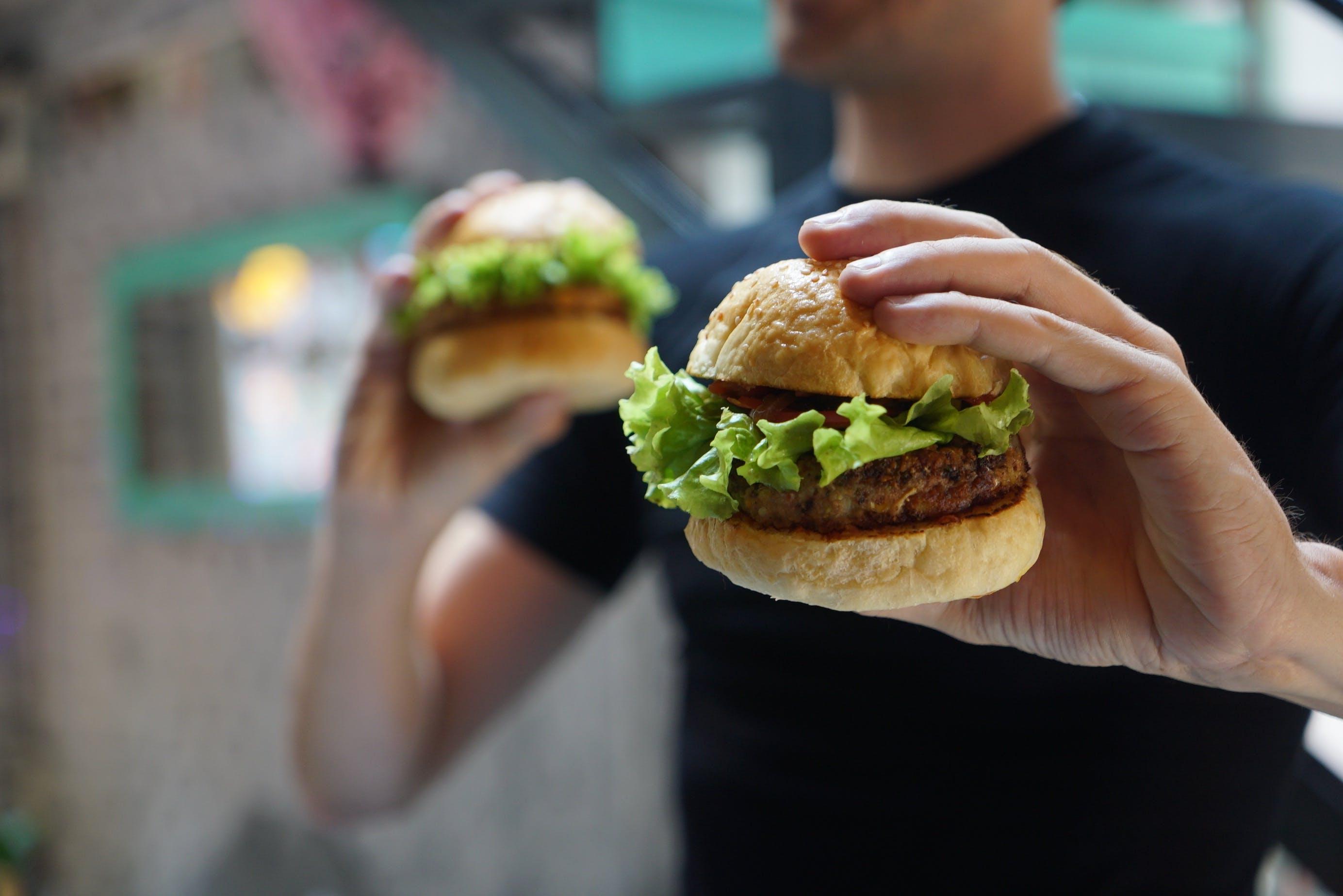 Ảnh lưu trữ miễn phí về ăn được, bánh bao, bánh hamburger, bánh mì kẹp thịt