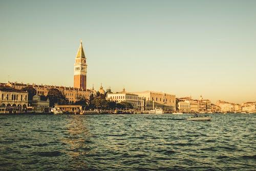 Photos gratuites de architecture, bateaux, bâtiments, ciel